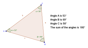 GeoGebra Worksheet: Triangles