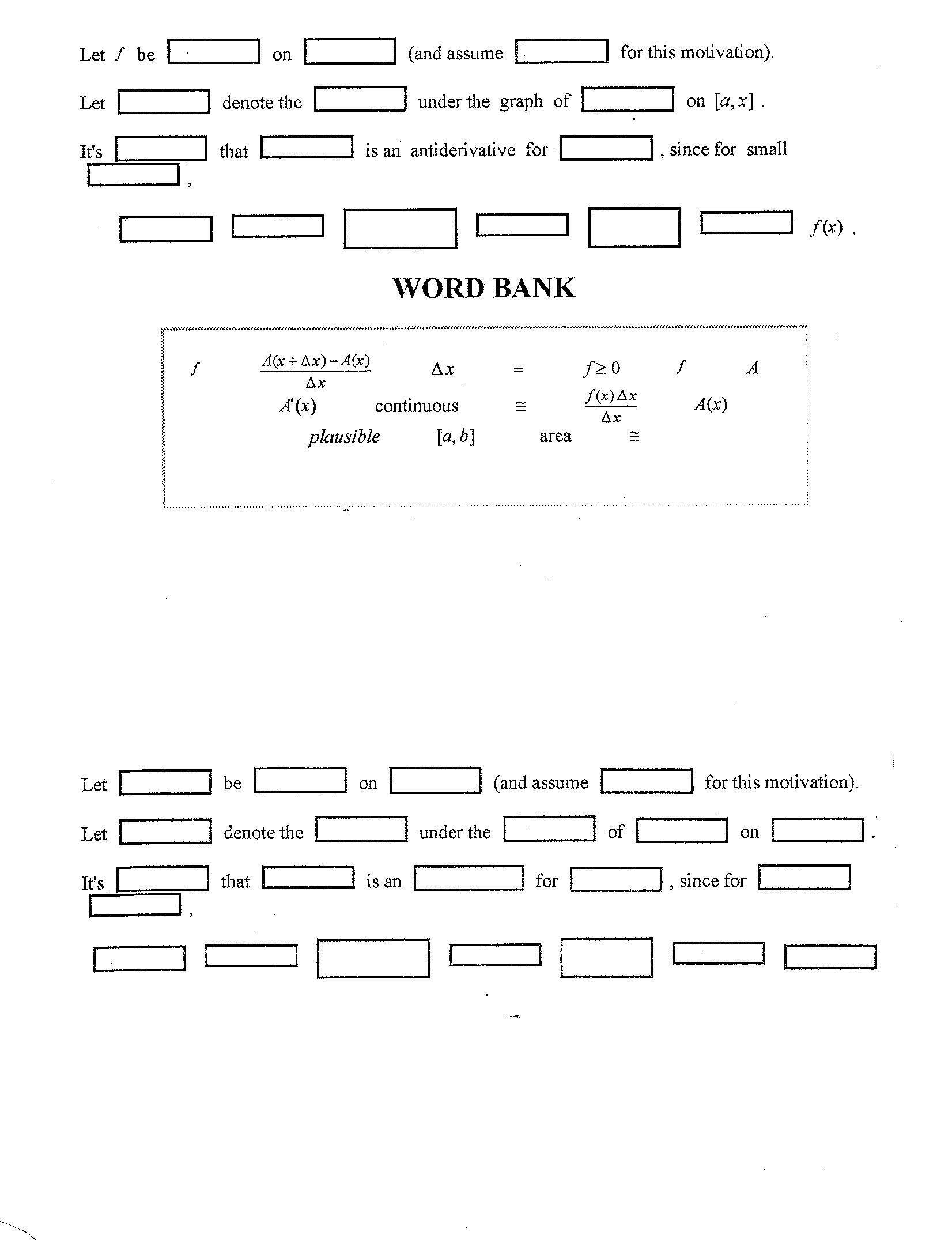 worksheet Antiderivative Worksheet antiderivative worksheet abitlikethis calculus i mat 136 daily syllabus with homework
