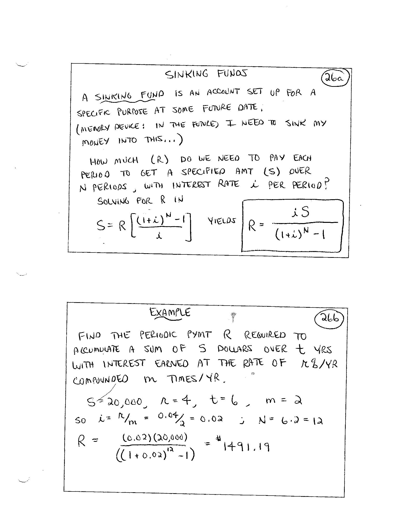 annuityf  finite math annuity