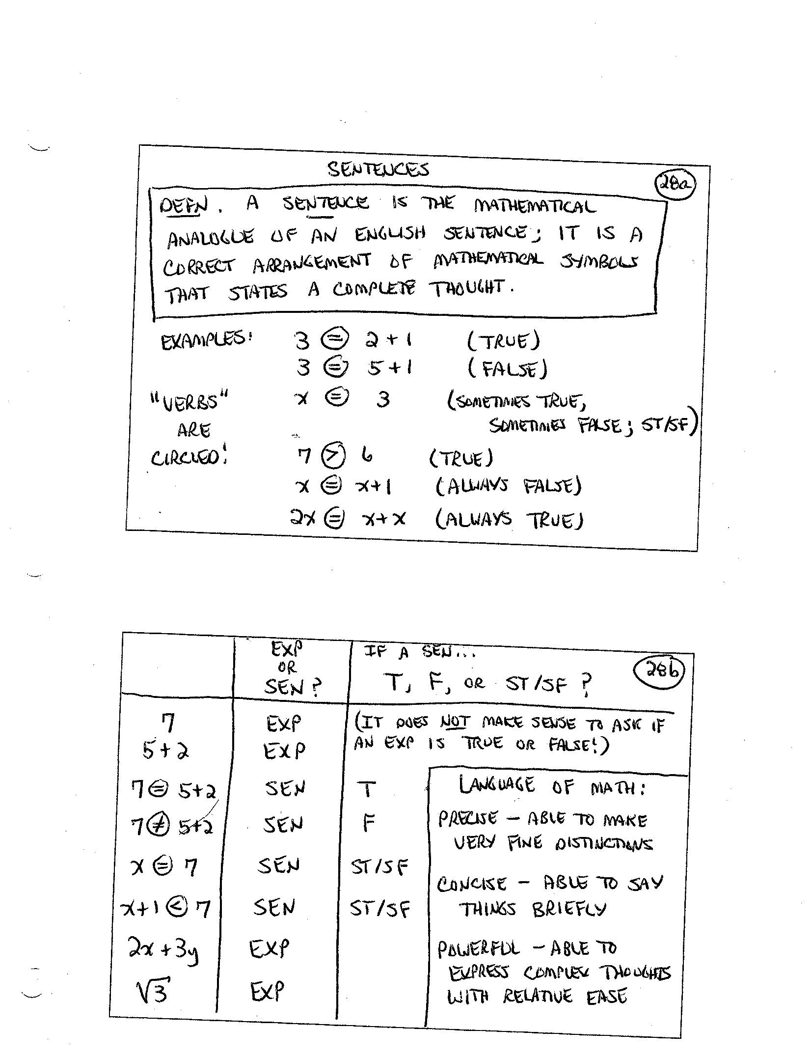 Finite math homework help